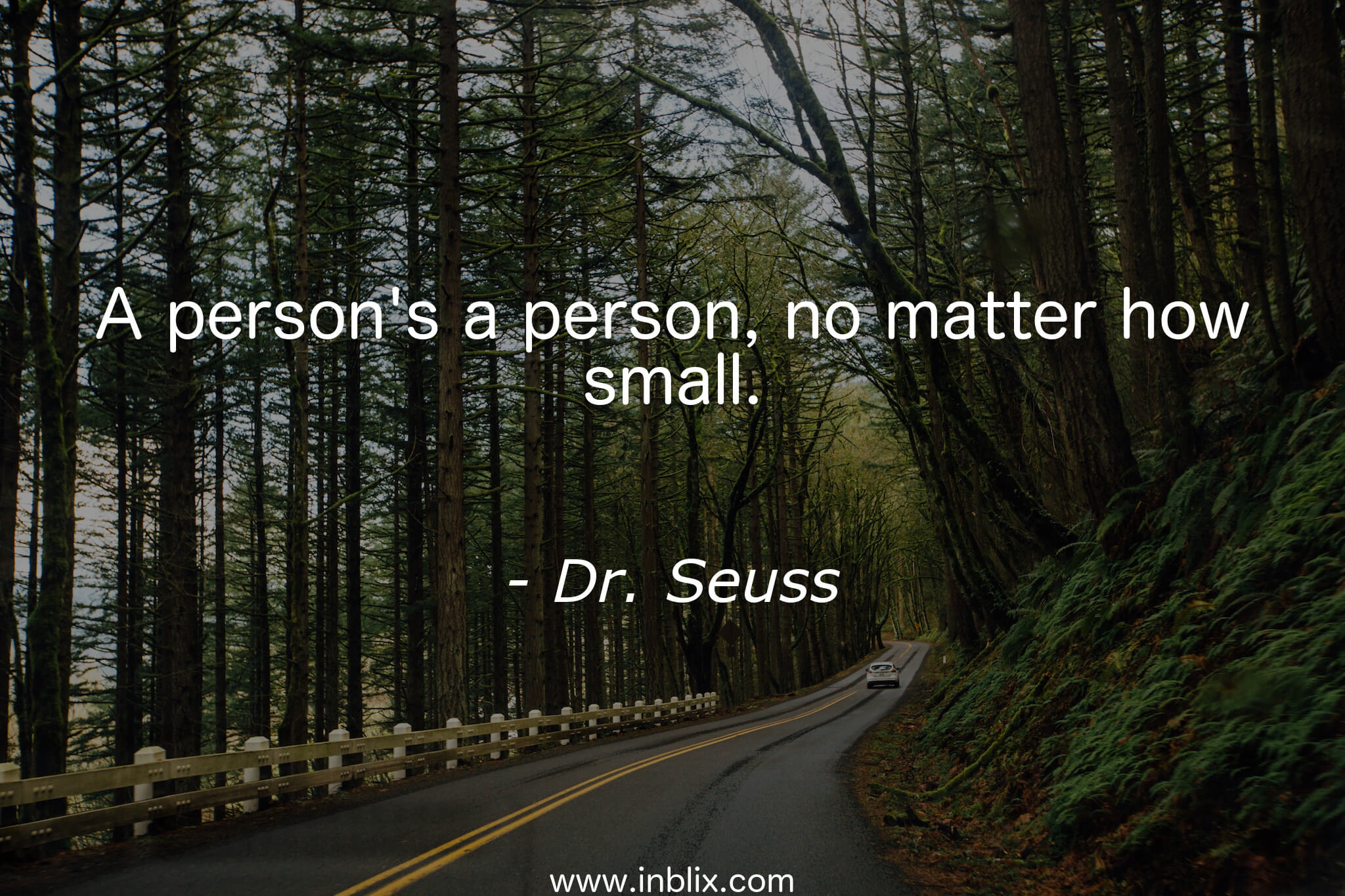 A person's a person, no matter how small.